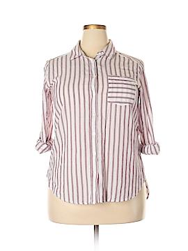 Ci Sono Long Sleeve Button-Down Shirt Size XL