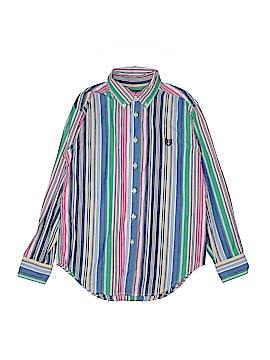 Chaps Long Sleeve Button-Down Shirt Size 10