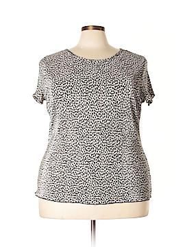 DressBarn Short Sleeve Blouse Size 3X (Plus)