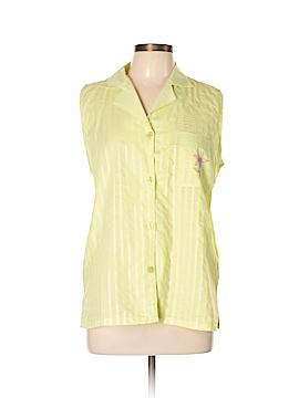 Just Love Sleeveless Button-Down Shirt Size M