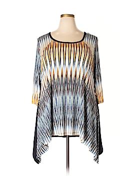 Karen Kane 3/4 Sleeve Top Size 3X (Plus)