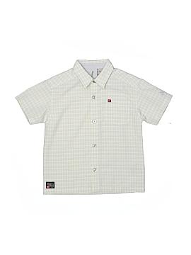 Quiksilver Short Sleeve Button-Down Shirt Size 4