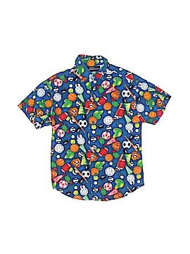 Kids Headquarters Short Sleeve Button-Down Shirt Size 6