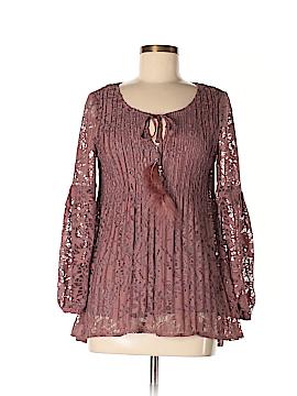 Melissa Paige Long Sleeve Blouse Size S