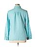 Charter Club Women Long Sleeve Button-Down Shirt Size XL