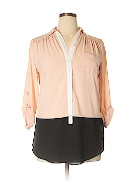 Iz Byer 3/4 Sleeve Blouse Size XL