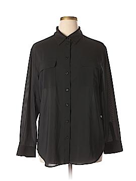 Neiman Marcus Long Sleeve Blouse Size XL