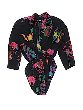 Escada by Margaretha Ley Long Sleeve Silk Top Size 34 (FR)