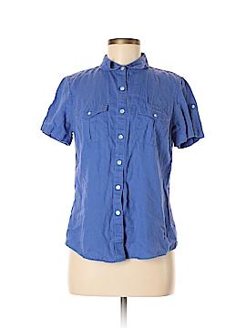 L.L.Bean Short Sleeve Button-Down Shirt Size S
