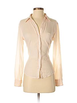 Velvet by Graham & Spencer Long Sleeve Button-Down Shirt Size P