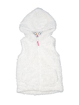 Mini Boden Faux Fur Vest Size 3 - 4