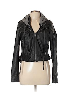 Jack. Faux Leather Jacket Size L