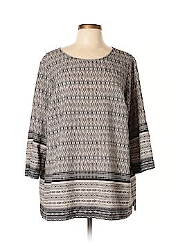 Lila Rose Long Sleeve Blouse Size 2X (Plus)
