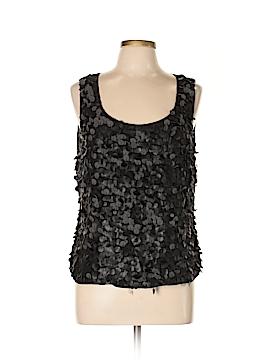 Ellen Tracy Sleeveless Silk Top Size 12