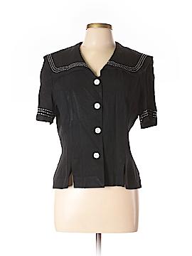 J.B.S. Short Sleeve Button-Down Shirt Size 12