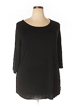 Zenana Outfitters 3/4 Sleeve T-Shirt Size 1X (Plus)