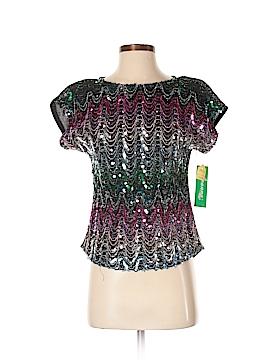 Joanna Short Sleeve Blouse Size S