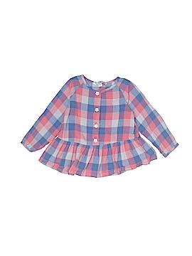 Pippa & Julie Long Sleeve Blouse Size 18 mo