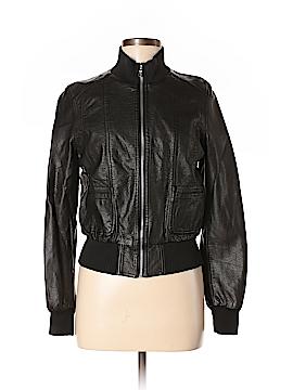 Nikibiki Faux Leather Jacket Size M