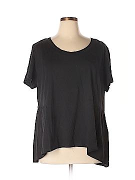 American Rag Cie Short Sleeve T-Shirt Size 2X (Plus)
