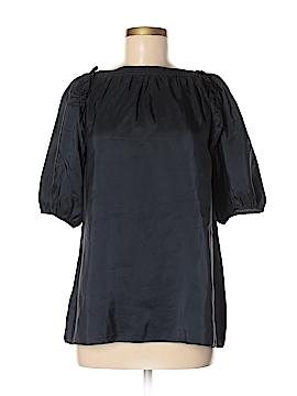 Banana Republic Short Sleeve Silk Top Size M