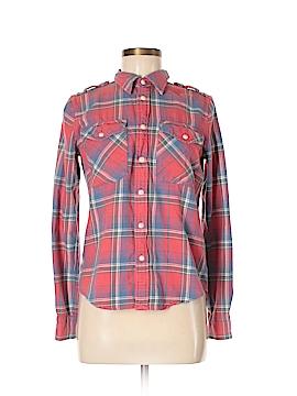 Ralph Lauren Rugby Long Sleeve Button-Down Shirt Size 6