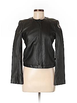 DKNY Leather Jacket Size P