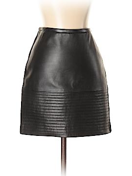 Sandro Leather Skirt Size Sm (1)