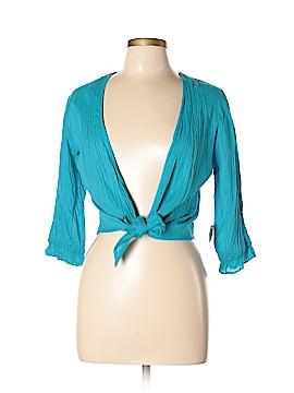Phool Long Sleeve Blouse Size M