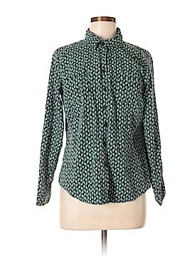 Croft & Barrow Long Sleeve Button-Down Shirt Size M