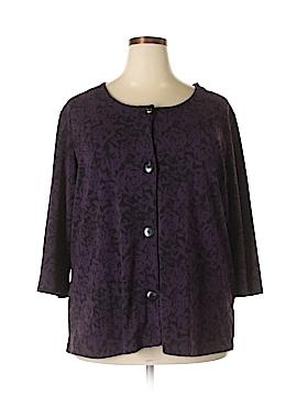 Jaclyn Smith Cardigan Size 2X (Plus)