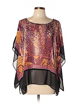 Ashley Stewart Short Sleeve Blouse Size 12