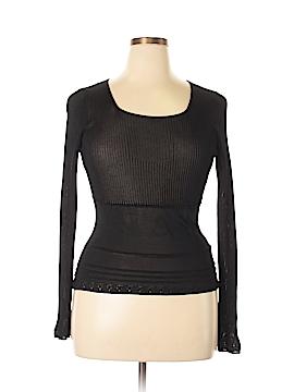 BCBGMAXAZRIA Silk Pullover Sweater Size XL