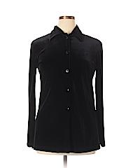 Baranda Women Long Sleeve Button-Down Shirt Size M