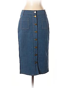 Tory Burch Denim Skirt Size 2