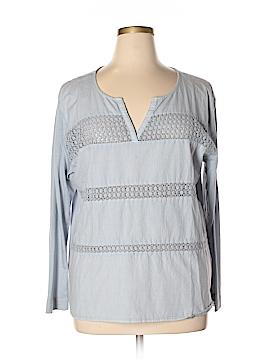 H&M L.O.G.G. Long Sleeve Blouse Size XL