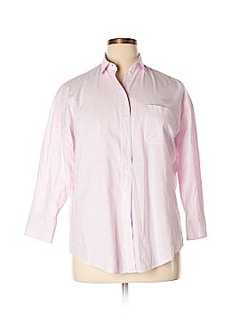 Maje Long Sleeve Button-Down Shirt Size Lg (3)