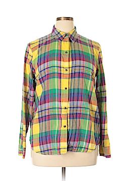 American Living Long Sleeve Button-Down Shirt Size XL (Plus)