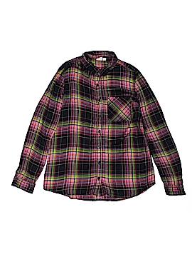 Gap Kids Long Sleeve Button-Down Shirt Size 12