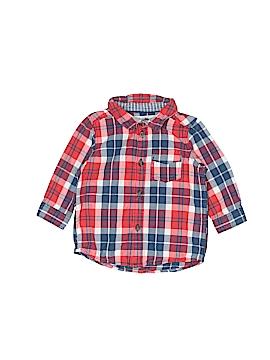 H&M Long Sleeve Button-Down Shirt Size 6 mo