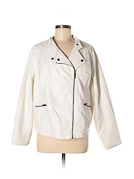 Torrid Faux Leather Jacket Size 2X Plus (2) (Plus)