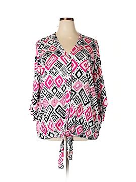 DressBarn Long Sleeve Blouse Size 3X (Plus)
