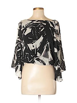 Alice + olivia Long Sleeve Silk Top Size XS
