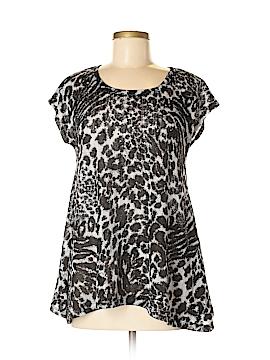 Laura Ashley Short Sleeve Top Size XL (Petite)