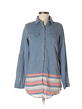 Japna 3/4 Sleeve Button-Down Shirt Size S