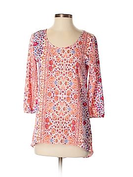 Moa Moa 3/4 Sleeve Blouse Size XS