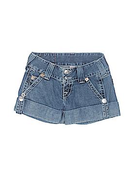 True Religion Denim Shorts Size 26 (Plus)