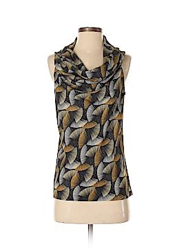 Sunny Leigh Short Sleeve Blouse Size 4 (Petite)