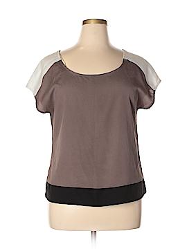 Matty M Short Sleeve Blouse Size L