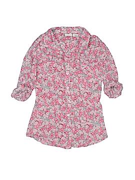 Mudd Long Sleeve Button-Down Shirt Size 9-12 mo